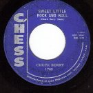 CHESS 1709 CHUCK BERRY Sweet Little Rock And Roll ~ Joe