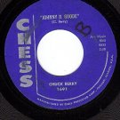 CHESS 1691 45 rpm CHUCK BERRY Johnny B. Goode ~ Around