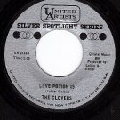 UA 1618 45 THE CLOVERS ~ Love Potion #9 ~ Stay Awhile