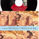 NM ELECTRA 45+ PS TEN THOUSAND MANIACS Trouble Me/Lions