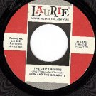 LAURIE 3027 DION/BELMONTS I've Cried Before/A Teenager
