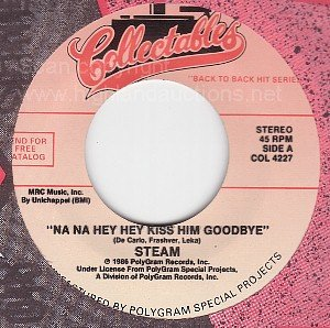 NM 45 STEAM/JIMMY JONES Na Hey Kiss Him Goodbye/Timin'