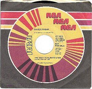 NM PROMO RCA PB-10625 DAVE & SUGAR Door Is Always Open