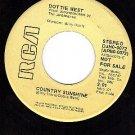 PROMO 45 RCA APB0-0072 DOTTIE WEST ~ Country Sunshine