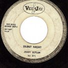 PROMO VEE JAY 371 JERRY BUTLER Silent Night/Holy Night