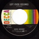 DECCA 32190 JACK GREENE Left Over Feelings ~ That Locks