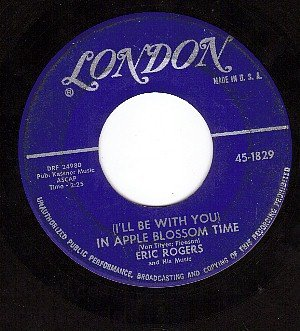 LONDON 1829 ERIC ROGERS Be With You In Apple Blossom