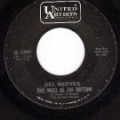 UA 50081 45 DEL REEVES This Must Be The Bottom/Laughter
