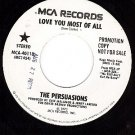 PROMO 45 MCA 40118 THE PERSUASIONS Love You Most Of All