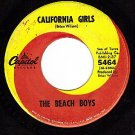 CAPITOL 5464 BEACH BOYS California Girls ~ Him Run Wild