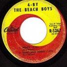 CAPITOL 5267 BEACH BOYS Wendy/Honda/Hushabye/Back Down