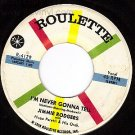 ROULETTE 4129 45 JIMMIE RODGERS I'm Never Gonna Tell