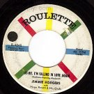ROULETTE 4045 45 JIMMIE RODGERS Oh I'm Falling In Love