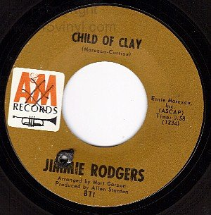 NM AM 871 45 JIMMIE RODGERS Child Of Clay ~ Turnaround