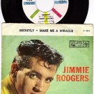 M- P/S+ REC 4070 JIMMIE RODGERS Secretly ~ Me A Miracle