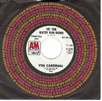 PROMO AM 1234 VIN CARDINAL Let The Water Run Down/Witch