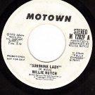 PROMO 45 rpm MOTOWN 1282F WILLIE HUTCH Sunshine Lady