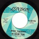 45 LONDON 904 ROLLING STONES Ruby Tuesday ~ Spend Night