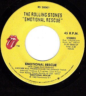 ROLLING STONES 20001 Emotional Rescue/Down In The Hole