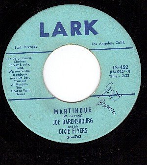 LARK 452 JOE DARENSBOURG Yellow Dog Blues ~ Martinque