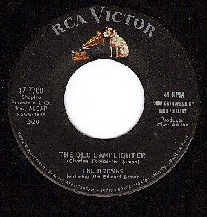 RCA 47-7700 THE BROWNS The Old Lamplighter/Teen-ex