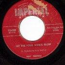 IMPERIAL 5439 ROY BROWN Let The Four Winds Blow/Diddy-O