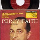 NM COLUMBIA B-2529 45 + PS PERCY FAITH Moulin Rouge