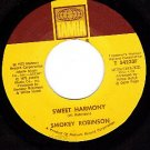TAMLA 54233 SMOKEY ROBINSON Sweet Harmony/know My Mind