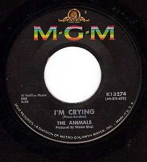 MG 13274 45 THE ANIMALS I'm Crying ~ Take It Easy Baby