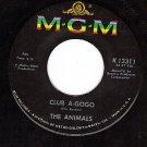 MGM 13311 ANIMALS Club A-Gogo ~ Let Me Be Misunderstood