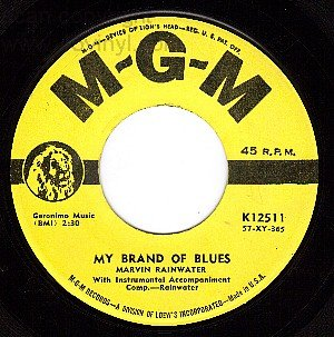 MGM 45 12511 MARVIN RAINWATER My Brand Of Blues/Real
