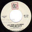 NM DCP 1136 LITTLE ANTHONY/IMPERIALS Take Me Back/Song