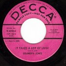 PROMO DECCA 9-30904 GRANDPA JONES Takes A Lot Of Livin