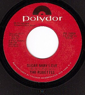 NM 45 POLYDOR 15089 RUBETTES Sugar Baby Love/Could Have