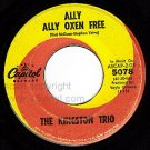 CAPITOL 45 5078 THE KINGSTON TRIO Ally Ally Oxen Free