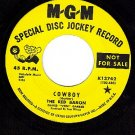 PROMO NM/M- MGM RED BARON Cowboy/Gonna Get You In The
