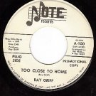 NM PROMO NOTE 100 RAY GRIFF Too Close Home/Carbon Copy