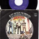 NM MOTOWN 1175 PS + 45 FOUR TOPS ~ Just Seven Numbers