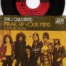ATLANTIC 2974 PS + 45 J. GEILS BAND ~ Make Up Your Mind