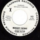 PROMO 45 CADENCE 1426 ARCHIE BLEYER Moonlight Serenade