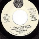 VERTIGO 103 IAN MATTHEWS Da Doo Ron Ron/Unamerican Blue