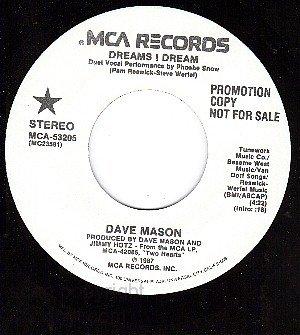 NM PROMO 45 rpm MCA 53205 DAVE MASON ~ Dreams I Dream