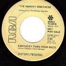 PROMO RCA 74-0919 MERCEY BROS ~ Kentucky Turn Your Back