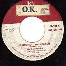 PROMO KAPP 185 JANE MORGAN Around The World ~ It's Not