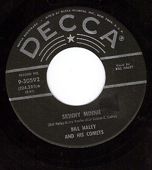 NM DECCA 30592 BILL HALEY Skinny Minnie ~ Sway With Me