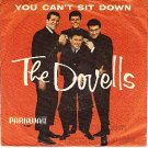 PICTURE SLEEVE 867 DOVELLS ~ You Cant Sit Down/Stompin