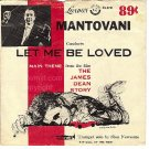 PICTURE SLEEVE LONDON 1761 MANTOVANI ~ LET ME BE LOVED