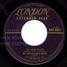 M- 45 EP LONDON BEP 6007 MANTOVANI Mantovani Dancetime