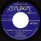 LONDON EP MATOVANI 6320 Mantovani Film Encores Vol 1
