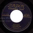 LONDON EP 6075 MANTOVANI Italian Street Song ~ Mystery